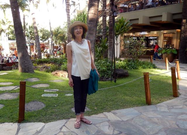 ハワイの服装ジーパン