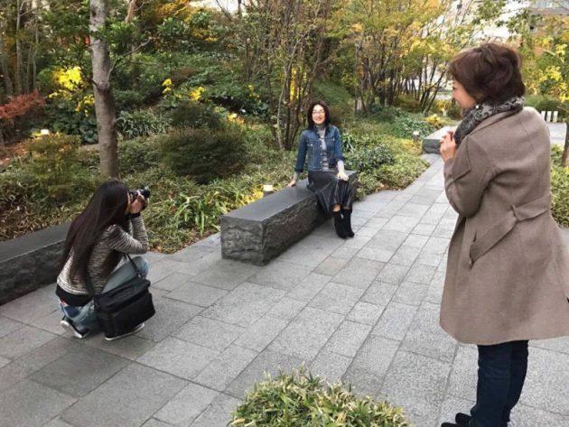 写真モデル体験